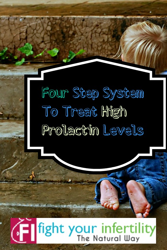 Four Step System To Treat High Prolactin Levels