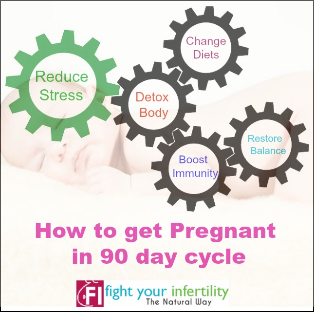 How to get pregnant in 90 day cycle naturally