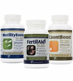 MALE FERTILITY SUPPLEMENT PACK