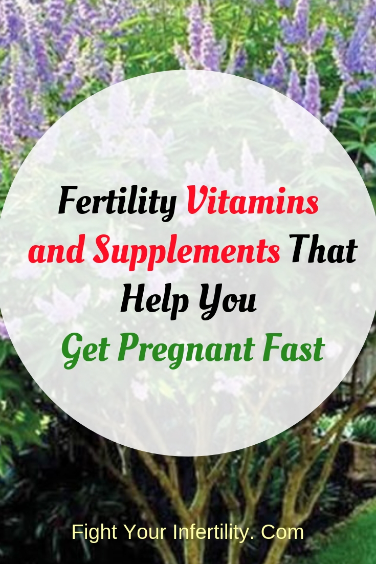 fertility vitamins and supplements that help you get pregnant fast