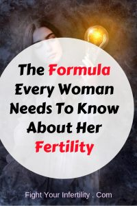 The Formula Every Woman Needs To Know About Her Fertility